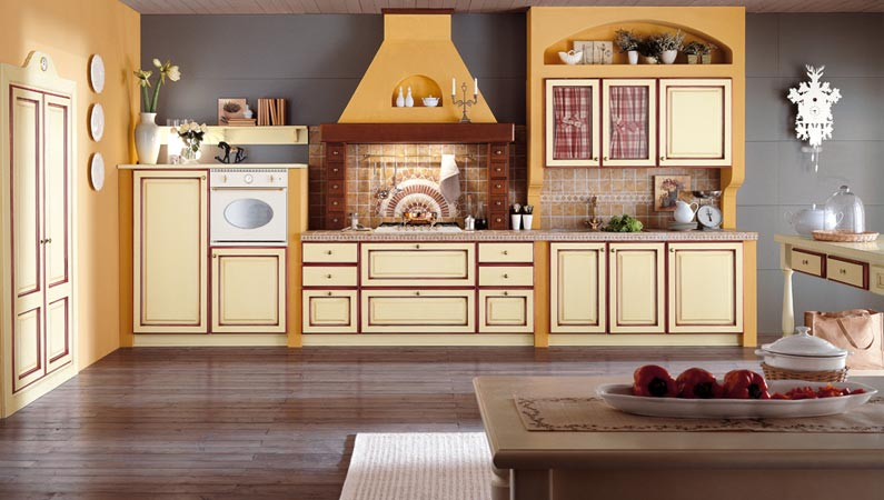 Categorie cucine in muratura centro cucine for Stile country arredamento