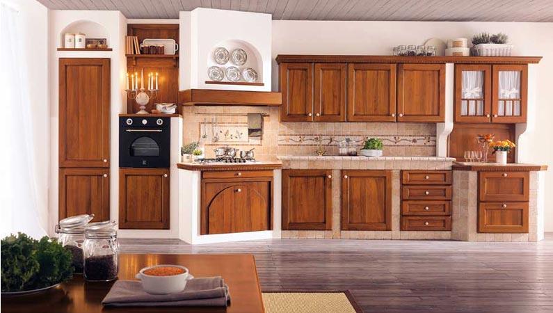 Cucina in muratura stile country centro cucine - Cucina in muratura country ...