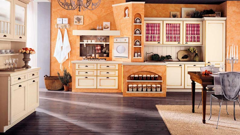 Categorie cucine in muratura centro cucine for Cucine stile country