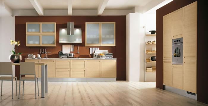 Cucina Rovere Chiaro - Modelos De Casas - Justrigs.com