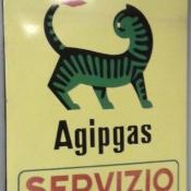INSEGNA AGIP GAS