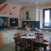 cucina in muratura laccata ovorio spigolata