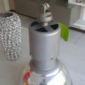 lampada industriale alluminio