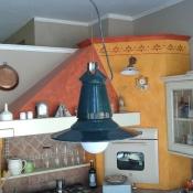 lampada lanterna anni 30 porcellanata