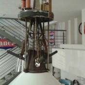 lampadario industriale