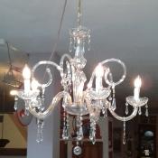 lampadario vetro tipo murano