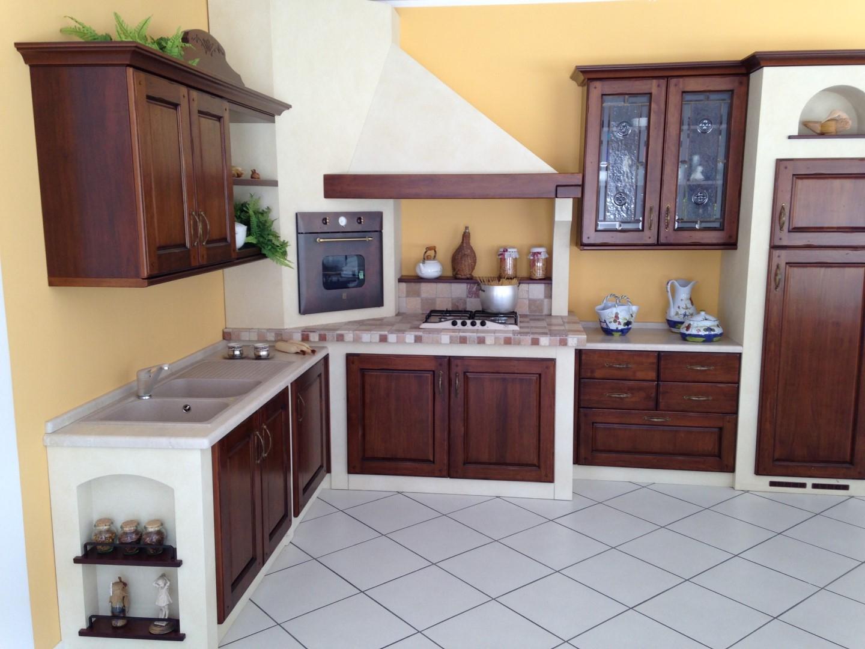 Cucina Ad Angolo In Muratura : Cucina ad angolo noce massello